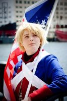 APHetalia: War of Independence America Cosplay by GoldenMochi