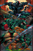 TMNT (test Pure Anaglyphe 3.50) by xmancyclops