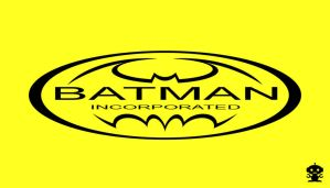 2010 Batman Incorporated Comic Title Title Logo by HappyBirthdayRoboto