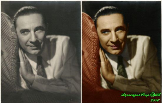 Lugosi colorization - 'Listen' by AsparagusSoup
