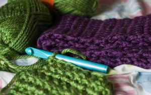 Christmas Crocheting by LiebeTacos