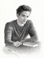 Edward Cullen by llvllagic