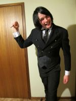 My 85% Complete Sebastian Cosplay. by Skeletal-Clown