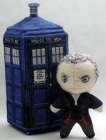 The Twelfth Doctor 3D Cross Stitch Doll by rhaben
