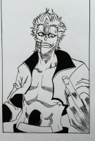 Grimmjow - Bleach by Pandaroszeogon