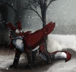 Early Snow by Octobertiger