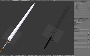 Claymore - the sword - WIP 3 by desprosal