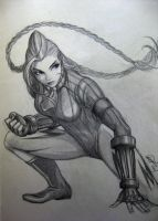 Cammy - old sketch by TixieLix