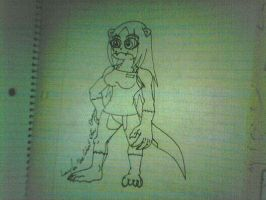 Layla The Giant Otter Queen by Will6790