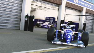 Williams FW16: Damon Hill by razor-rebus