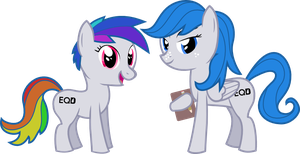 EquestriaDaily mascot submission by Derjuin