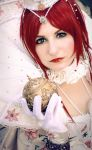 Trinity Blood: Esther by Amapolchen