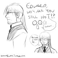 Edward is Old!? by HitanTenshi