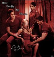TB Eric Sookie Bill Alcide by GadeChii
