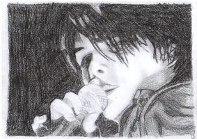 Gerard Way With Mic by Suuzz123