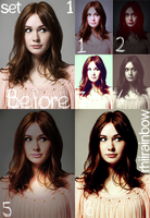 Set 1 -6 actions- by RhiiRainbow
