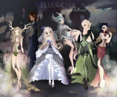 Halloween Party from Ellerichie by Cyndery