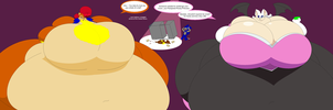 Mobian Gluttons by Two-Ton-Neko