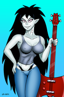 Marcy Ready To Jam by curtsibling