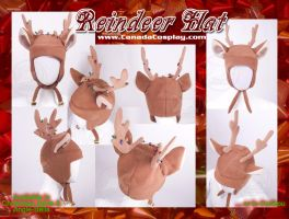 Christmas Reindeer Hat  WINNER by calgarycosplay