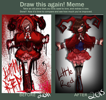 Little Red Draw It Again by Styl-Fly