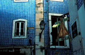 blue tiles and cod by tanja1983