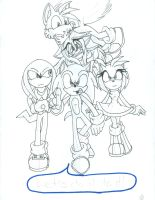 Preview of a Sonic Comic pg.4 by Sushibeth