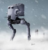 AT-ST by RomanDubina