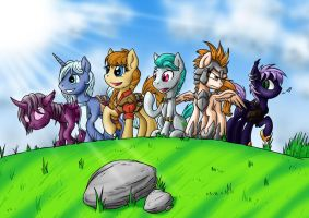 Band of Ponies by SonicPegasus
