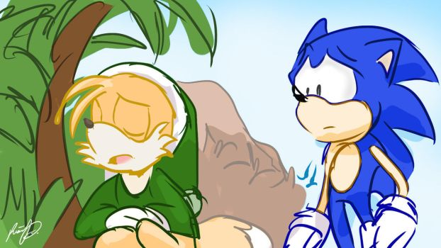 Colour Still, Christmas With Sonic In Paradise, #A by ddgjdhh