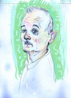 Bill Murray by LFalco