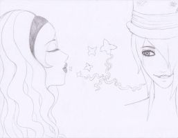 Alice and Mad Hatter by SamuraiLover13