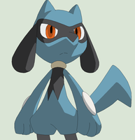 Pokemon Base 112~Riolu 2 by Xbox-DS-Gameboy