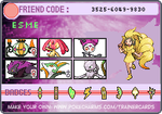 My Trainer Card by 900tails