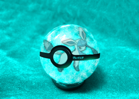 Glaceon Pokeball by animejunkey54