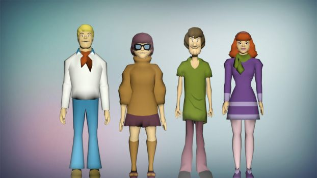 Scooby Doo Pack by diegoforfun