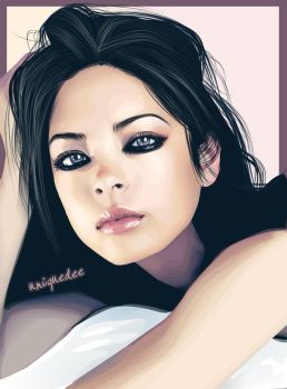 kristin kreuk by Uniquedee