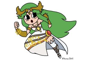 Cute Palutena by BThomas64