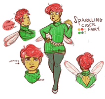 Sparkling Apple Cider Fairy: Open by FrenchFriedOreo