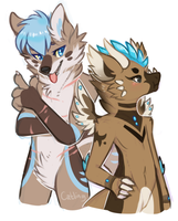 furry squad by catlinq