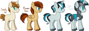 [HOLD] - Ponies Batch 6 by Featheries