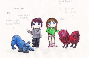 Chibi People colour! by CharlieK-33