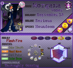 PKMN Armonia - Morgana Vomer [NEW] App! by Powerwing-Amber