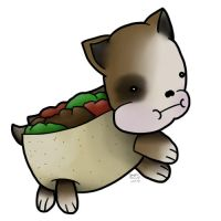 PuppyChef is a taco by Junjou-DeathNote