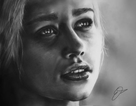 Daenerys Targaryen - Game of Thrones by TheEndlessRiver