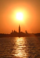 Sunset Over Venice II by Maxdicapua