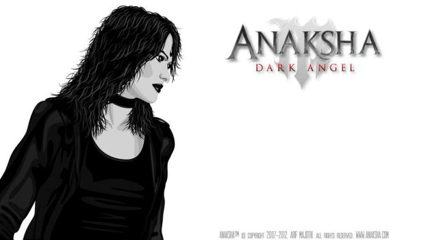 Anaksha Dark Angel - Cover Art by arif-rocks