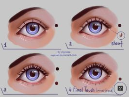 Eyelashes Tutorial by AyyaSAP