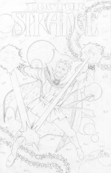 Dr. Strange Pencils - Sinnott - Egli - by SurfTiki