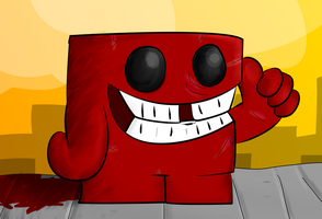 Meat boy by Toxicoow